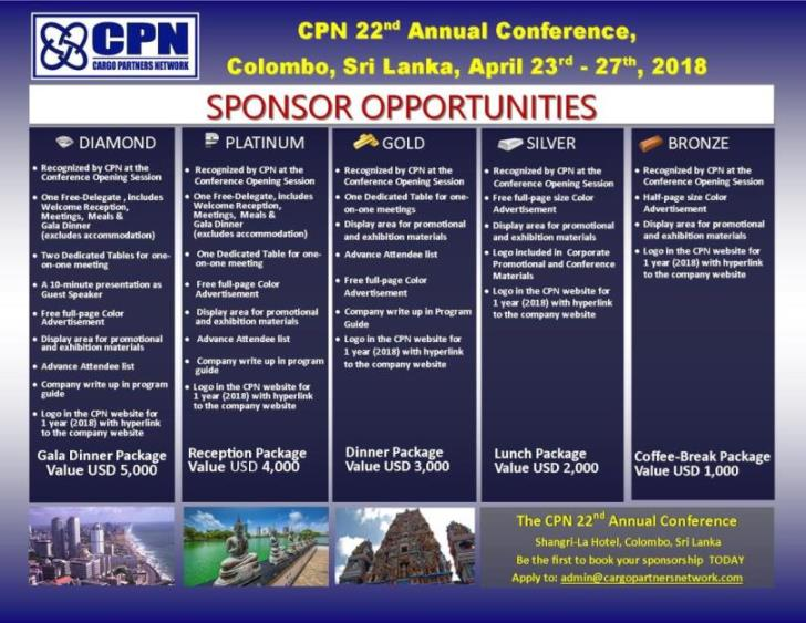 22nd ANNUAL CONFERENCE | Cargo Partners Network